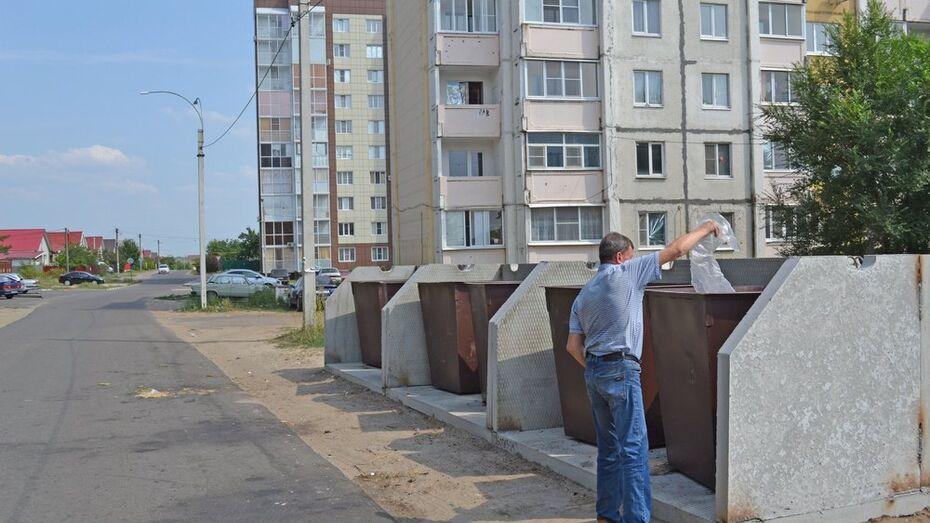 В Лисках оборудовали 206 контейнерных площадок