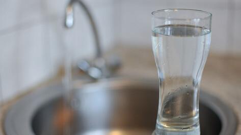 В Советском районе Воронежа включили воду