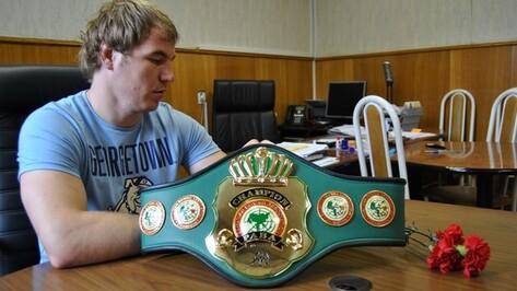 Юных семилукских боксеров тренирует Чемпион мира