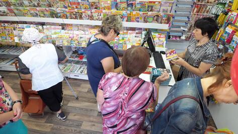 Современный павильон прессы открылся в Воронеже на улице Краснознаменной