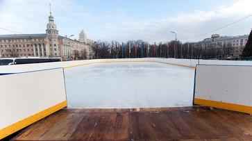 Каток на главной площади Воронежа откроется 26 декабря