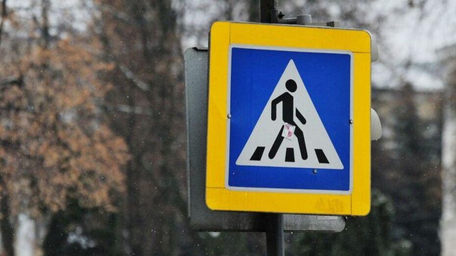 Воронежец украл с дорожных знаков на трассе солнечные батареи