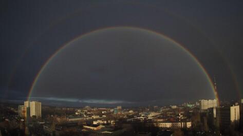 Профессор физики объяснил двойную ноябрьскую радугу в Воронеже