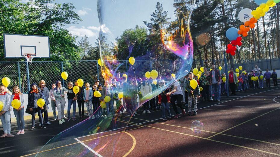 Дети работников Нововоронежской АЭС начали проводить каникулы в новом оздоровительном лагере