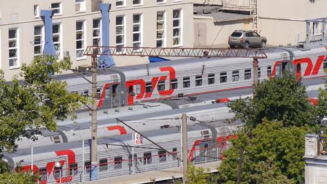 Шесть пригородных поездов изменят расписание в Воронежской области