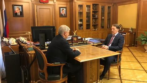 Глава Воронежской области доложил Алексею Гордееву о росте показателей животноводства