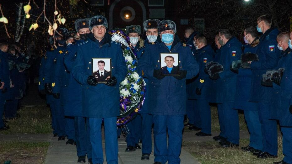 С убитыми на Балтиморе военными простились в Воронеже