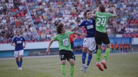Воронежский «Факел» проиграл в Красноярске