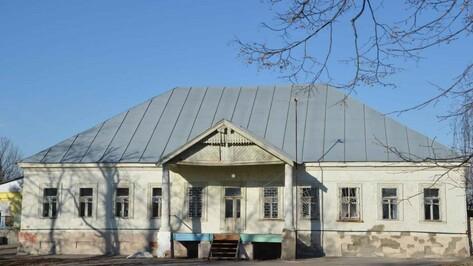 В Чертовицах под Воронежем утвердили границы охраны старинной усадьбы