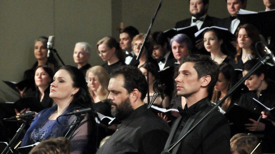 Воронежские солисты спели в соборе Святых Петра и Павла в Москве