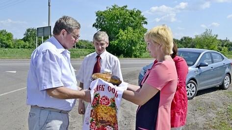 Председатель правления воронежского землячества в Москве побывал на родине в Грибановском районе