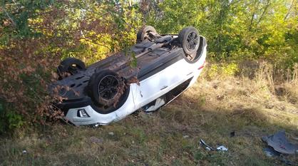 Воронежцев попросили найти скрывшегося с места массовой аварии водителя