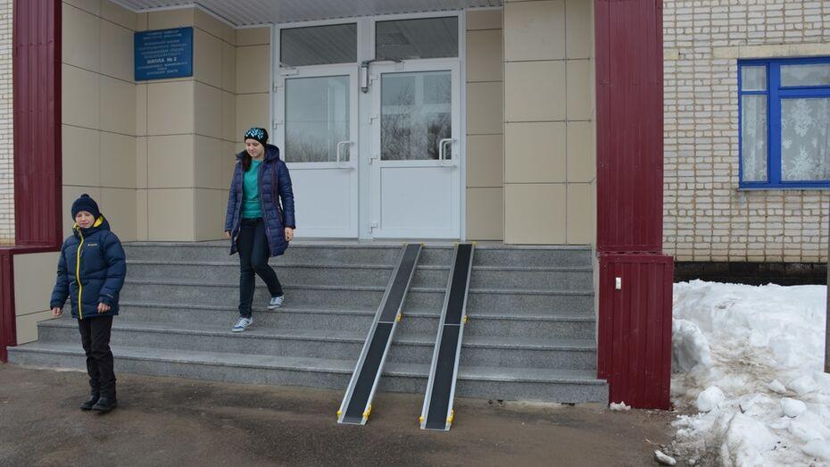 Верхнемамонская школа вошла в программу «Доступная среда»