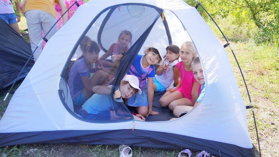 В Семилукском районе начал работу православный детский лагерь