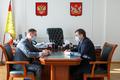Соблюдение закона в сфере госзаказа обсудили спикер облдумы и глава воронежского ФАС