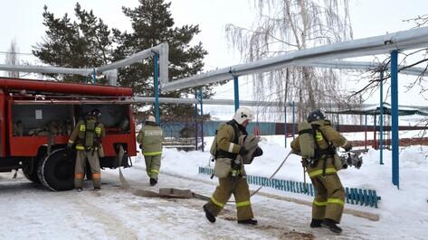 В Воробьевском психоневрологическом интернате провели пожарные учения