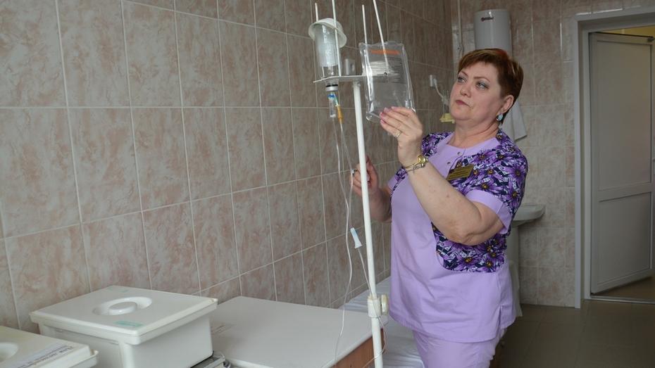 В Поворино капитально отремонтировали инфекционное отделение райбольницы