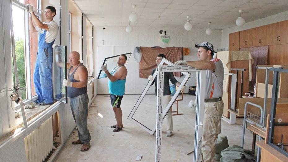 В Таловском районе летом отремонтируют 19 сельских школ