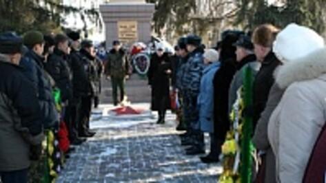 В Боброве впервые отметили День памяти неизвестного солдата