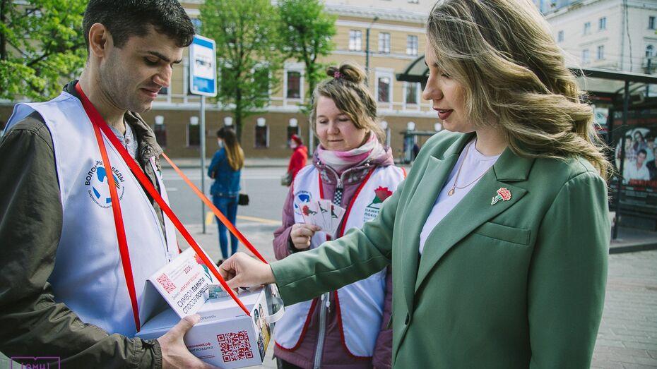 Акция «Красная гвоздика» стартовала в Воронежской области