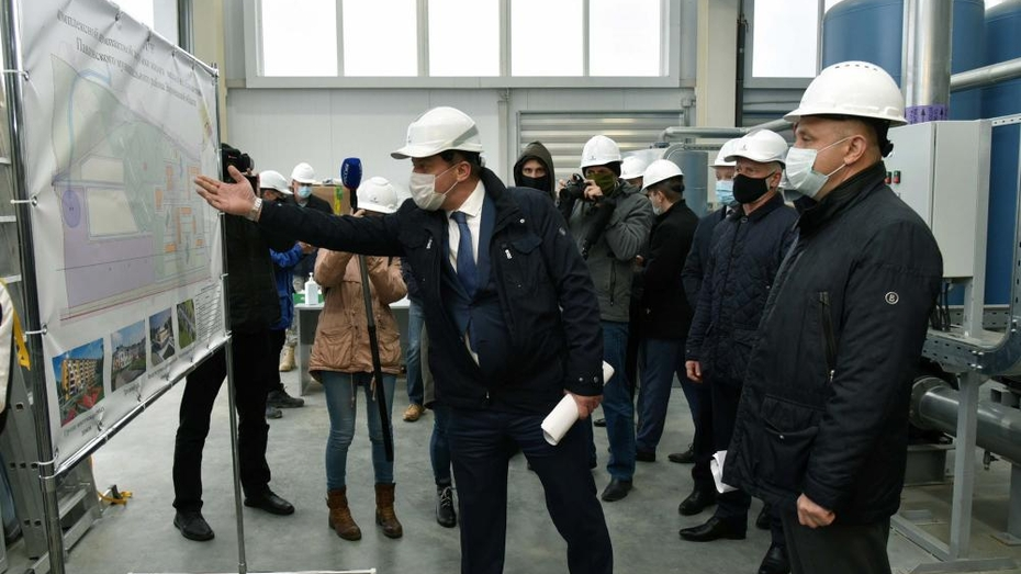 Правительство Воронежской области проверило ход реализации инвестпроектов «АГРОЭКО»