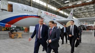 Дмитрий Рогозин в Воронеже анонсировал создание дальнемагистрального самолета