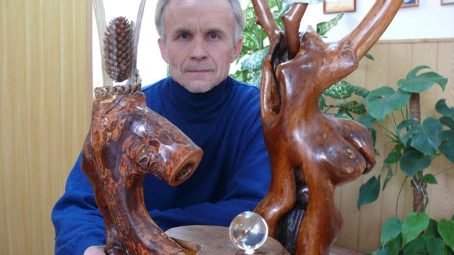 Поворинский поэт создает из дерева уникальные предметы интерьера