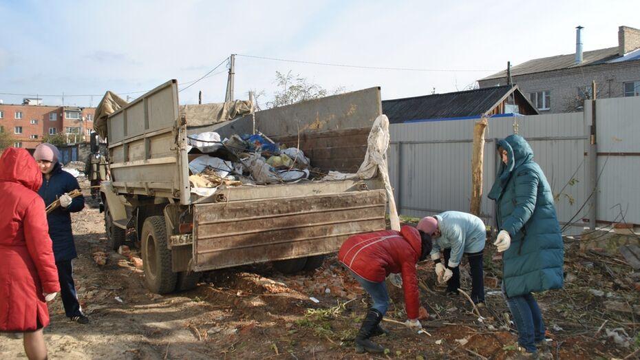 На благоустройство в семилукском поселке выделили около 1 млн рублей