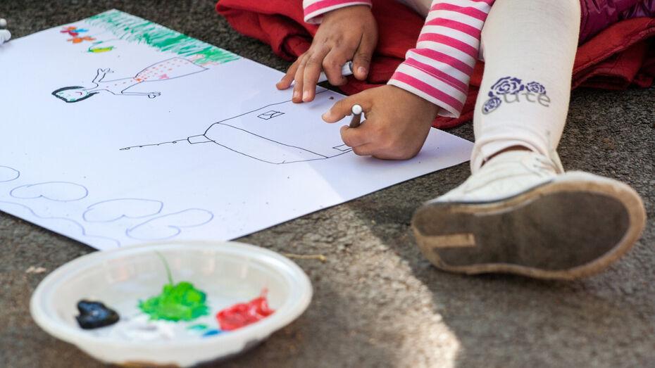Дети сотрудников Воронежэнерго прошли в финал конкурса рисунков