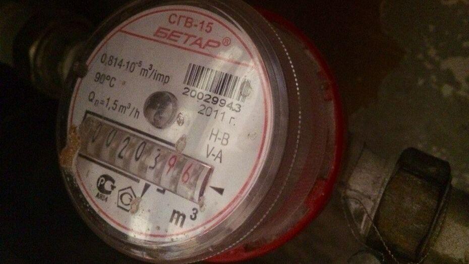 Семилукские коммунальщики проверят показания всех внутриквартирных счетчиков на воду