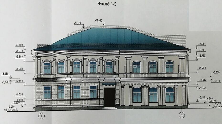 Старинное здание почтовой конторы отреставрируют в Воронежской области