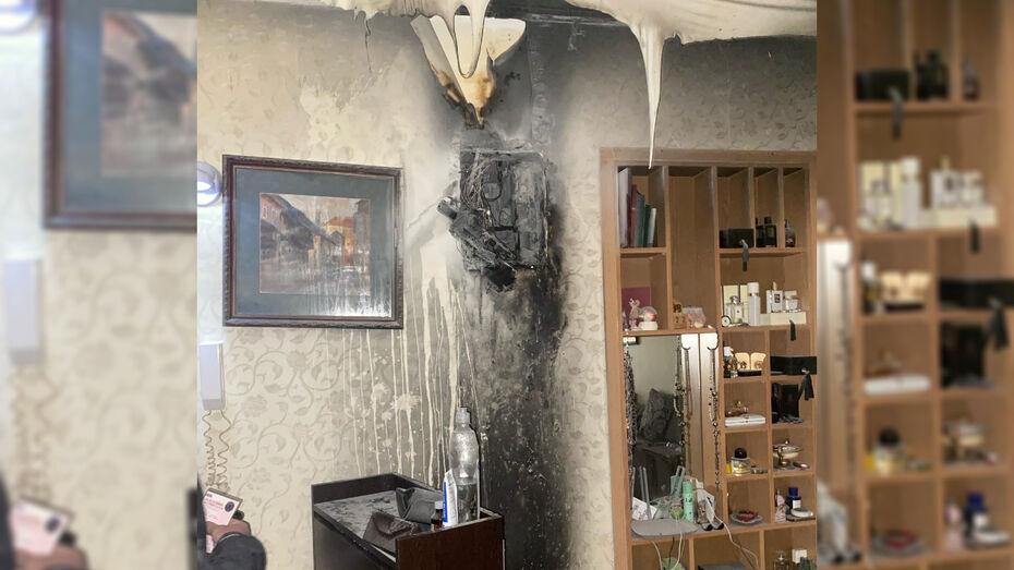 Таксист потушил пожар в доме в центре Воронежа