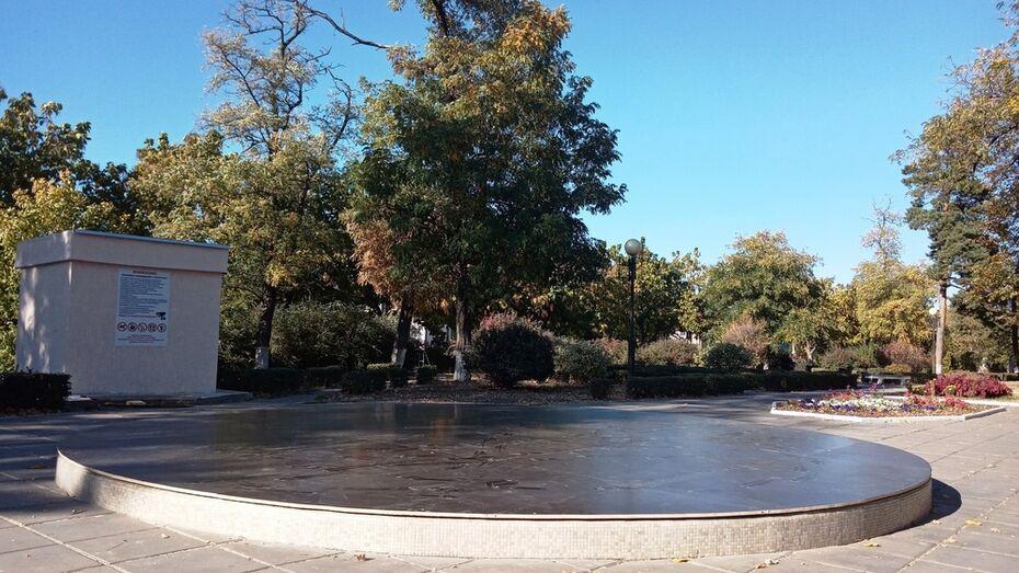 В Павловске на зиму отключили фонтаны