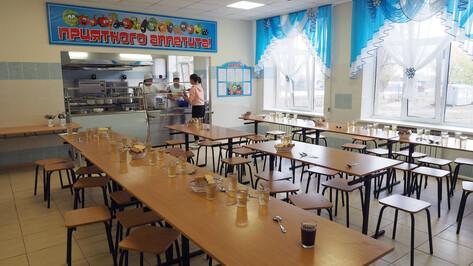 Воронежские младшеклассники начнут бесплатно получать горячие обеды с 1 сентября