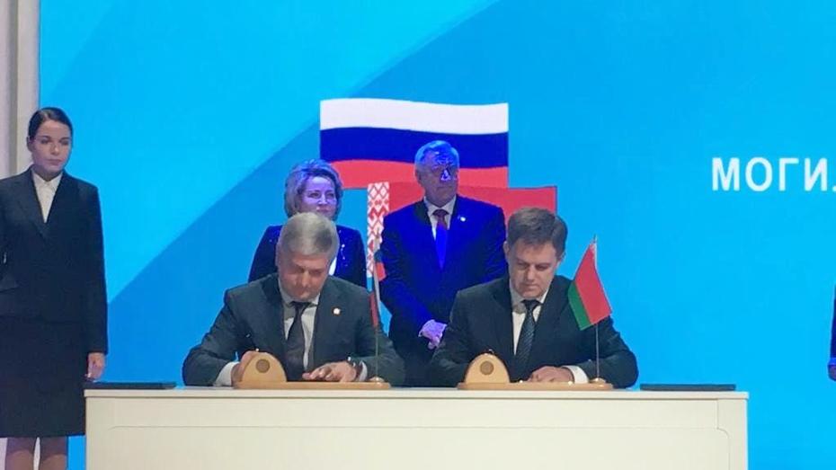 Воронежская область будет отправлять больше товаров в Республику Беларусь
