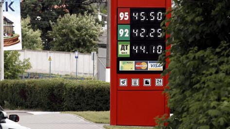 Воронежская область оказалась на 52-м месте в РФ по доступности бензина