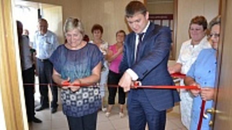 В Грибановском селе открылся офис государственных и муниципальных услуг «Мои документы»
