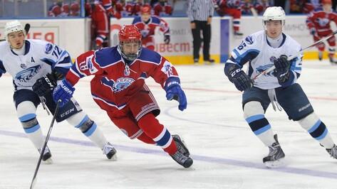 Хоккеисты «Россоши» во второй раз всухую обыграли «Юность»
