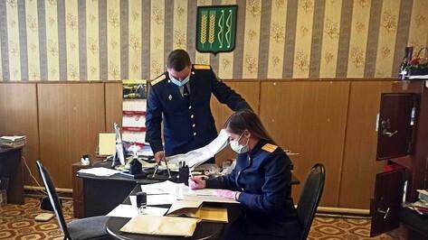 Главу поселения под Воронежем заподозрили в незаконном получении 0,9 га земли