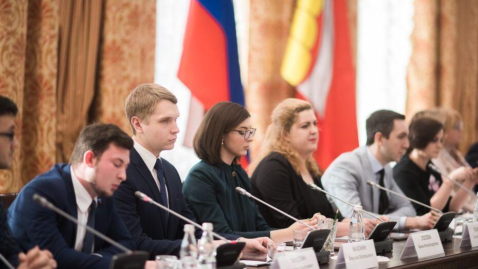Стартовал конкурс на места в Молодежном правительстве Воронежской области