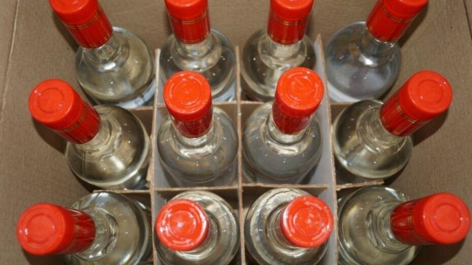 Россошанка ответит в суде за торговлю контрафактным спиртным