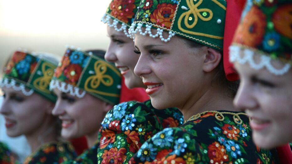 На фольклорный фестиваль под Воронежем приедут 300 исполнителей народных песен