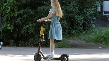 В воронежских скверах и парках ограничили скорость движения самокатов