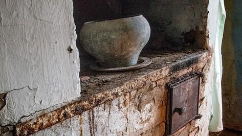В Воронежской области при пожаре в доме с печью погиб мужчина