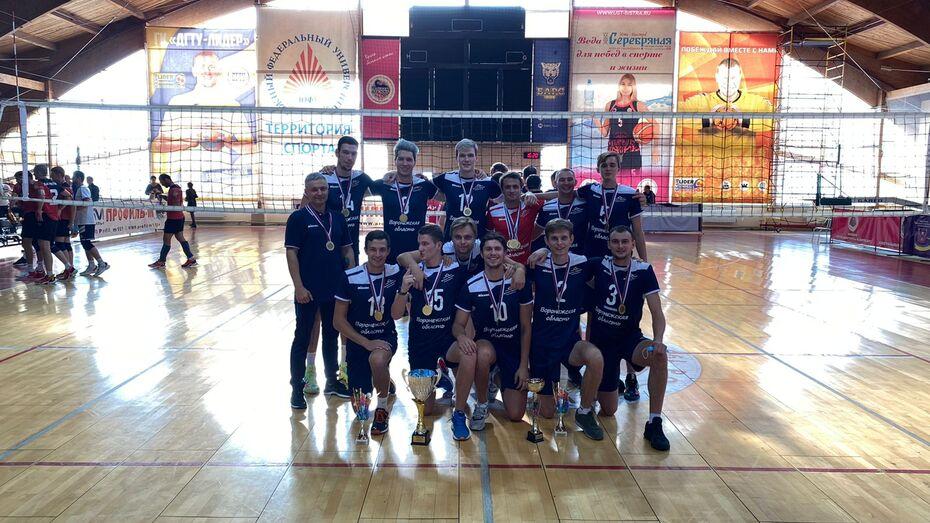 Воронежские волейболисты выиграли первый в истории Кубок России