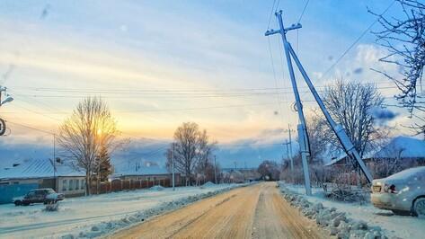 В Острогожском районе без света остались жители села Новая Мельница и части города