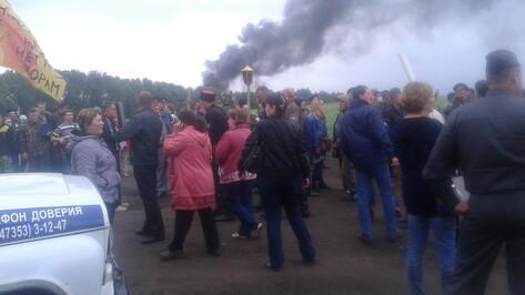 УГМК: Толпой, разгромившей лагерь геологов, управляли люди, скрывавшие лица белыми банданами