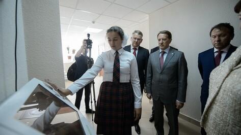 Школа в Воронежской области ввела биометрические пропуска первой в Черноземье