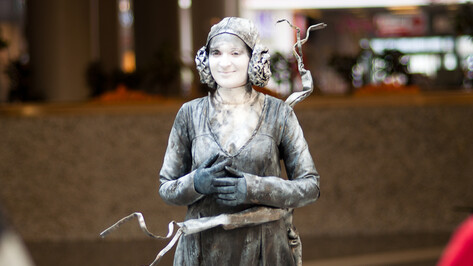 В Воронеже прошел Фестиваль живых статуй