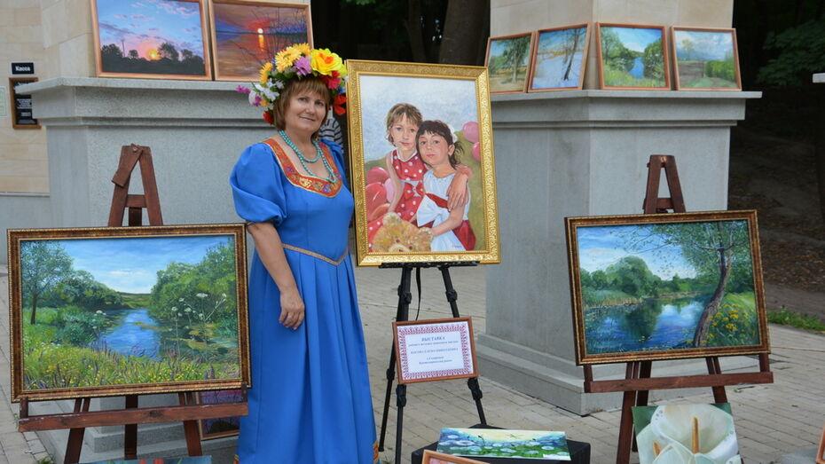 Кантемировцев пригласили на выставку местной художницы Елены Косовой 12 ноября
